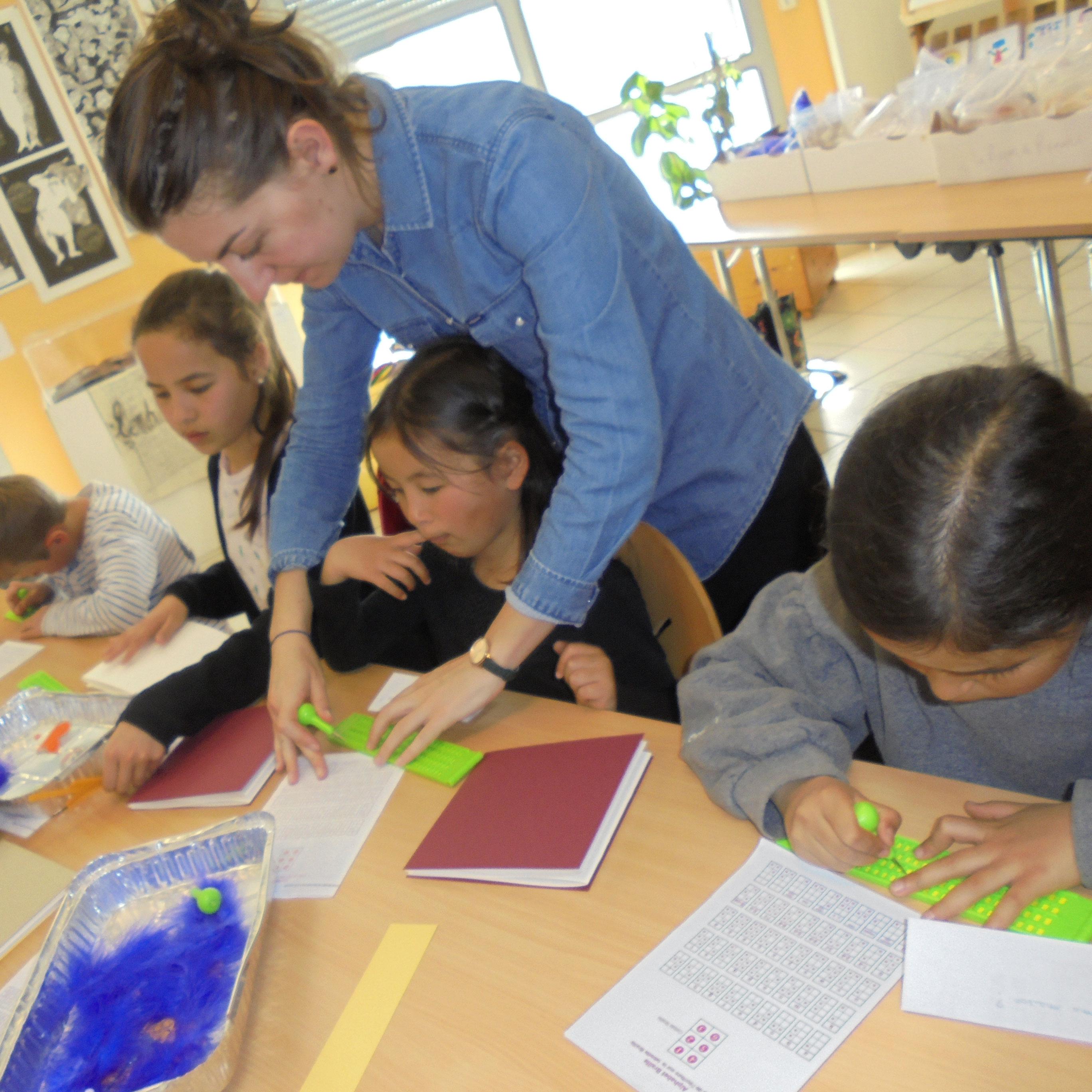 Image: animation dans les écoles