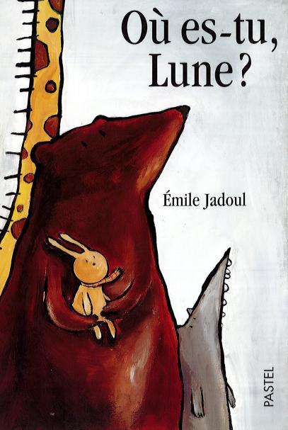 """photo couverture édition d'origine """"Où es-tu, Lune?"""", éd L'école des loisirs"""