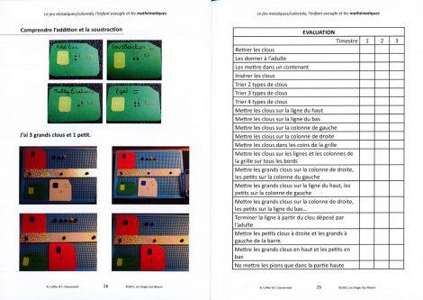 Pages intérieures du titre Jeu mosaïques Coloredo