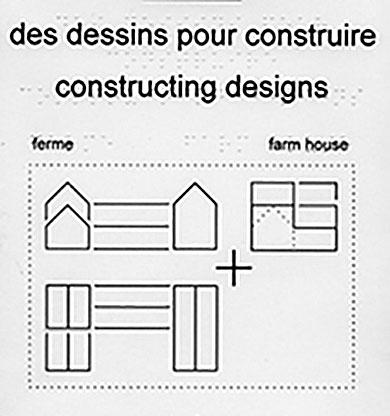 Zoom sur Des dessins pour construire