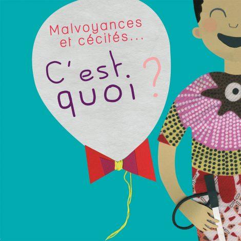 """Image : Couverture livre """"Malvoyances et cécités"""""""