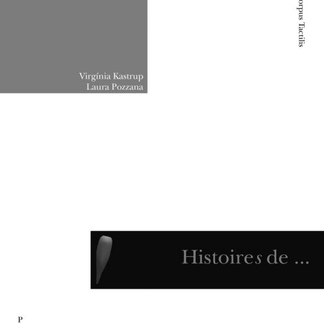 """Couverture du titre """"Histoires de cécités"""""""