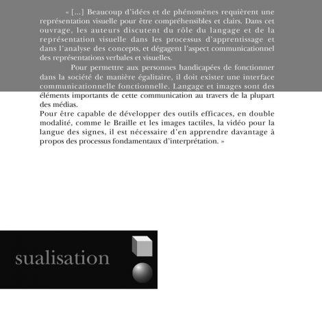 """Couverture du titre """"Langage et visualisation"""""""
