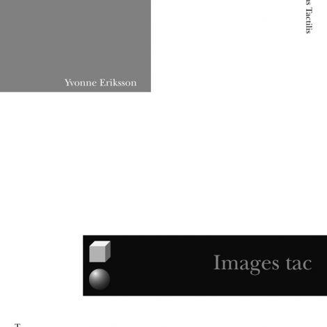 """Couverture du titre """"Images tactiles"""""""
