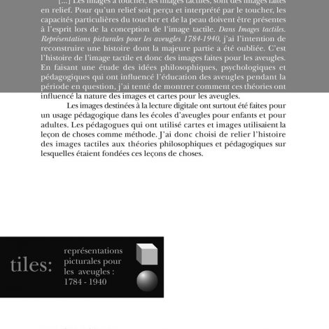 "Couverture du titre ""Images tactiles"""
