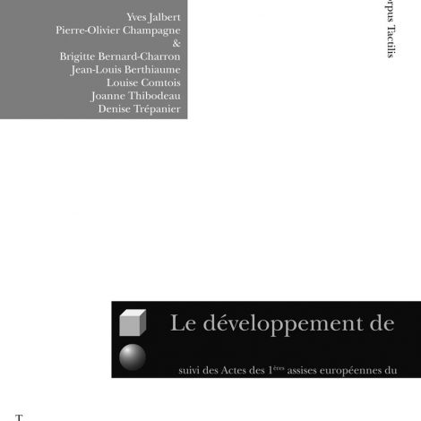"""Couverture du titre """"Le développement de la conscience de l'écrit..."""""""
