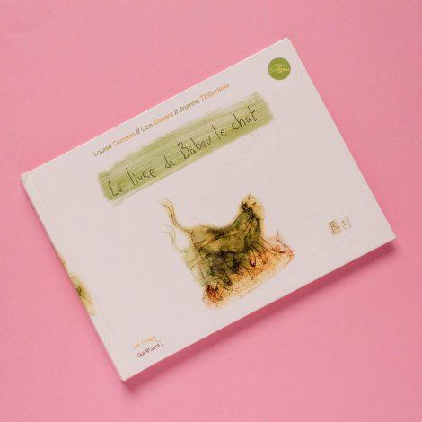 Couverture du titre Le livre de Babou le chat