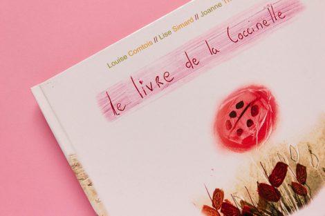 Détail couverture du titre Le livre des coccinelles