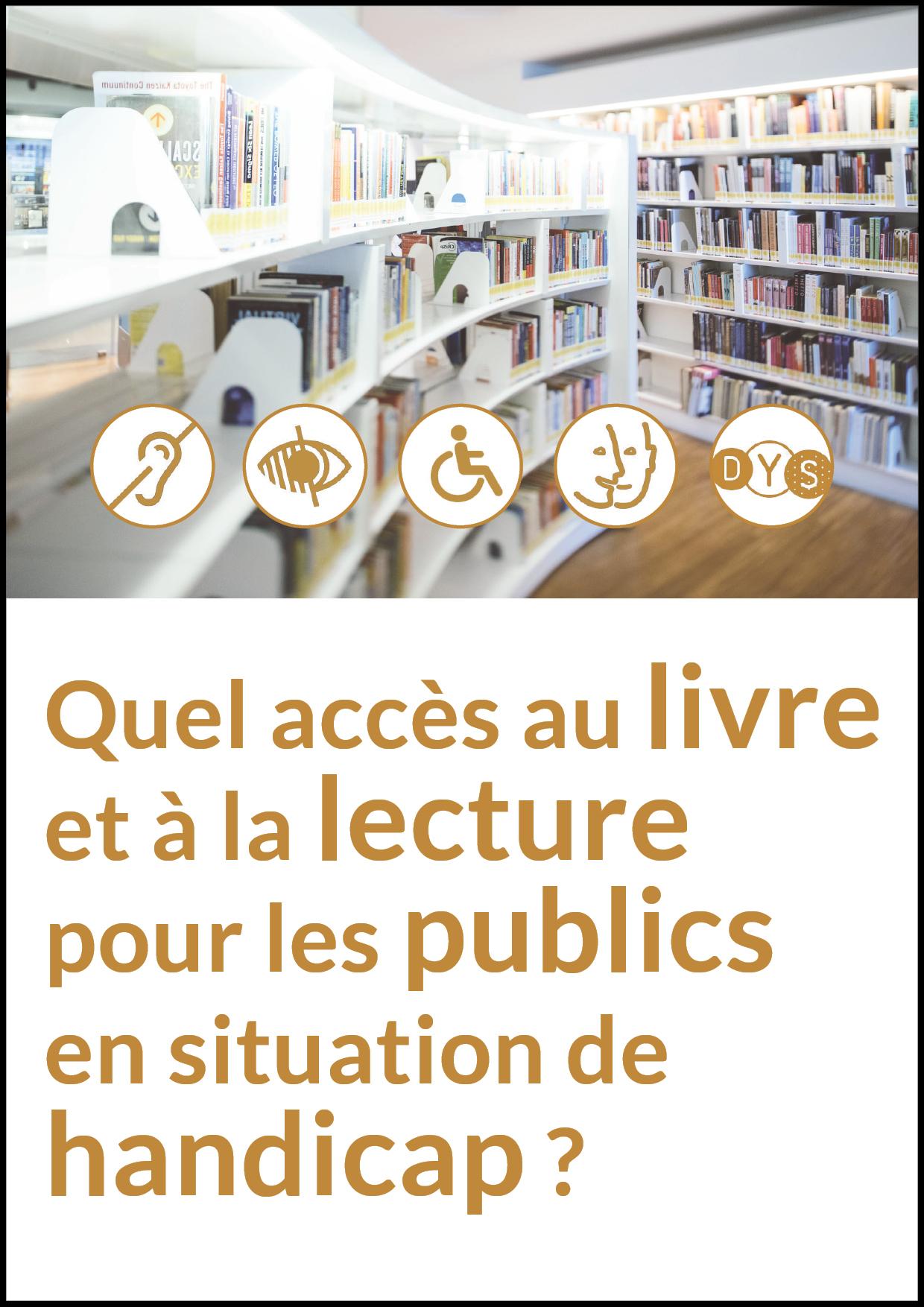 """visuel journée pro DIJON """"quel accès au livre et à la lecture pour les personnes en situation de handicap"""""""