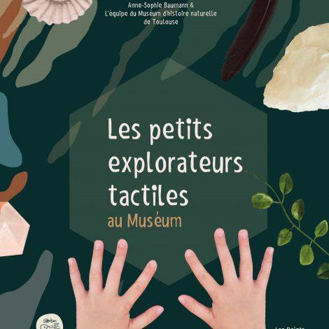 Couverture de l'album tactile Les petits explorateurs tactiles au Muséum